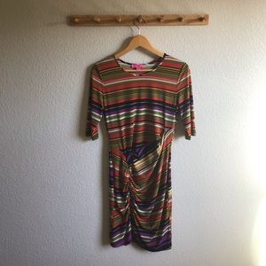 Betsey Johnson Striped Dress